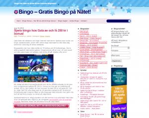 Online Bingo - Få Gratis Pengar Att Spela För