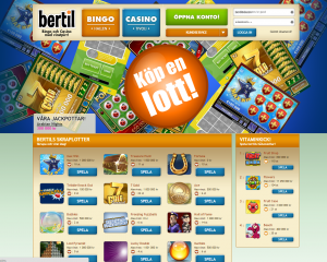 Skraplotter hos Bertil casino